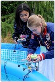 Region Students Engineer Water Robots